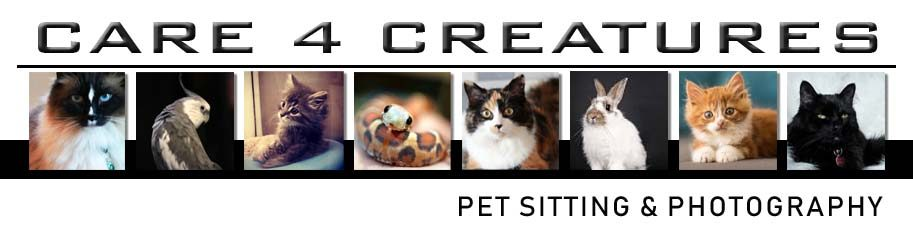 Rates - Care 4 Creatures Pet Sitting, Cat Sitting Calgary AB